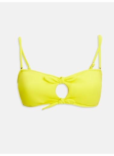LC Waikiki Bikini Üst Sarı